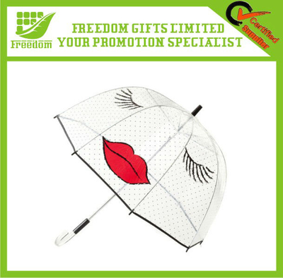 Most Popular Lady Style Clear Bubble Umbrella