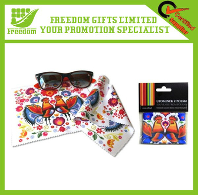 Promotional Microfiber Wiping Cloth for Glasses/Lens