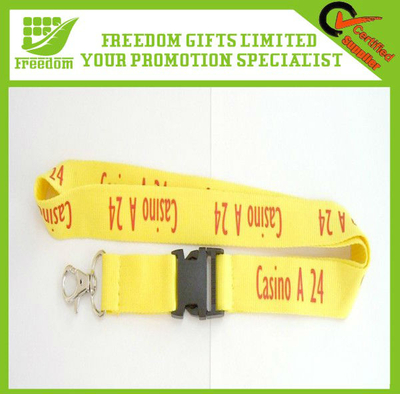 Promotion Lanyard Customized Jacquard Lanyard