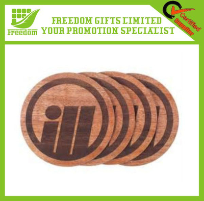 Promotional Customized Wooden Coaster