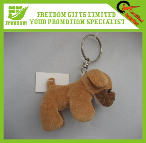 Promotional Gifts Custom Plush Toys Keychain