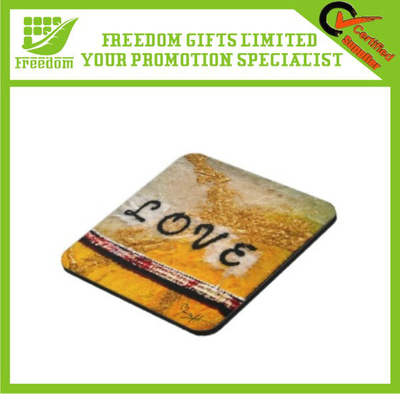 Advertising Customized Cork Paper Coaster
