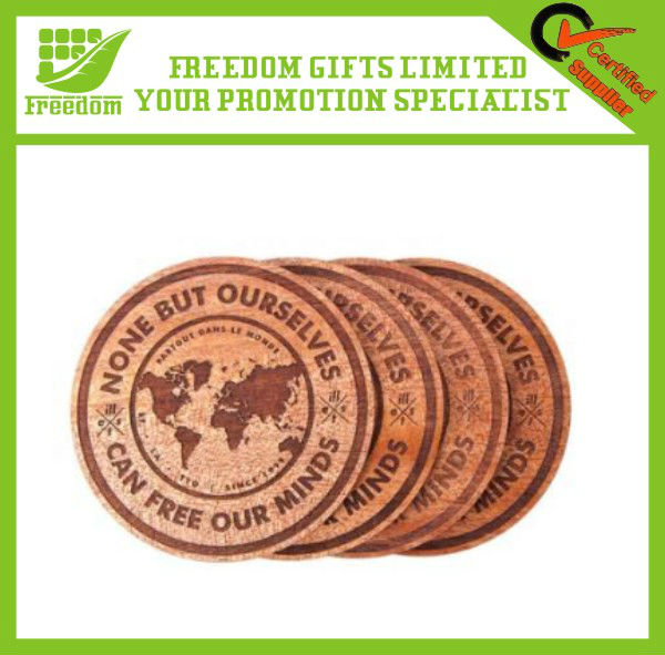 Top Quality Promotional Wooden Cup Coaster