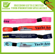 Customized Design Fesstival Woven Fabric Wristband