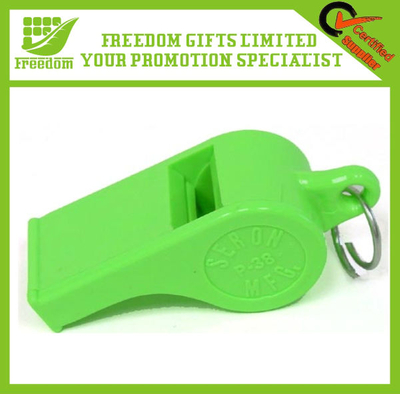 Eco-Friendly Customized Plastic Metal Whistle