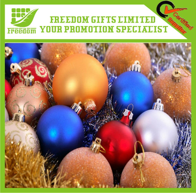 Promotional Hot Selling Christmas Ball Plastic