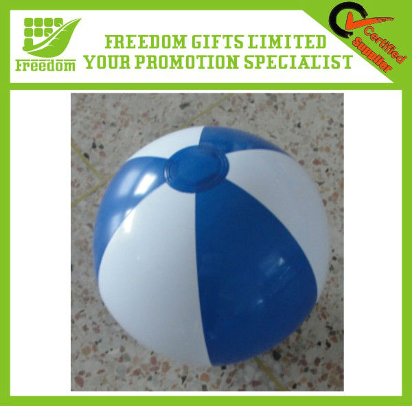 Beach Ball Logo Print Foam Ball