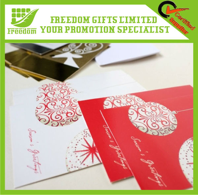 Promotional Good Quality Christmas Greeting Card