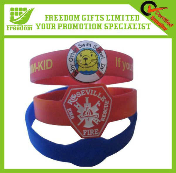 Customized Irregular Silicone Wristband