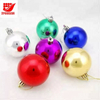 Hot Selling Environmental 6cm Plastic Christmas Ball