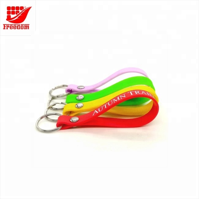 Logo Customized Silicone Key tag
