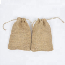 Hot Sale Promotional Custom Logo Mini Jute Bag