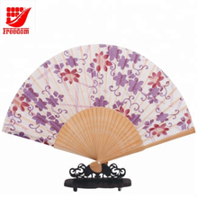 Fashion Style Customised Hand Held Paper Fan