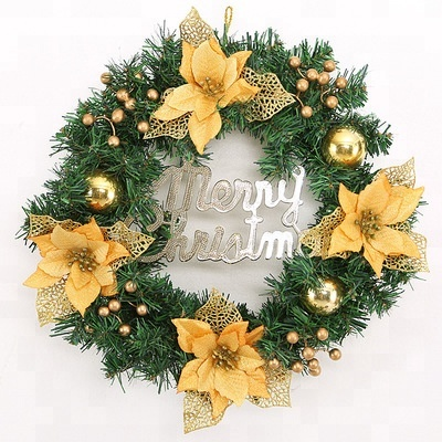 Hot Sale Nice Colorful Christmas Wreath