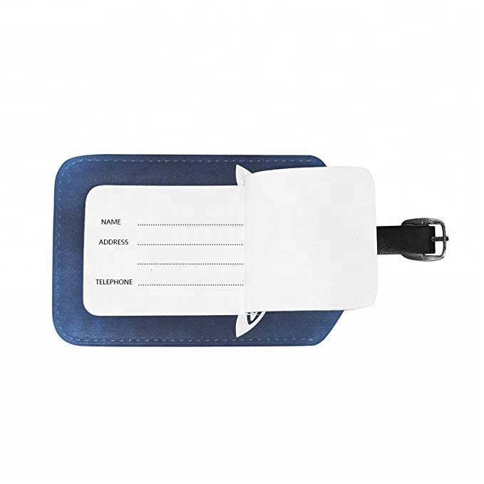 Custom Logo Cute Leather Cruise Travel Luggage Tags