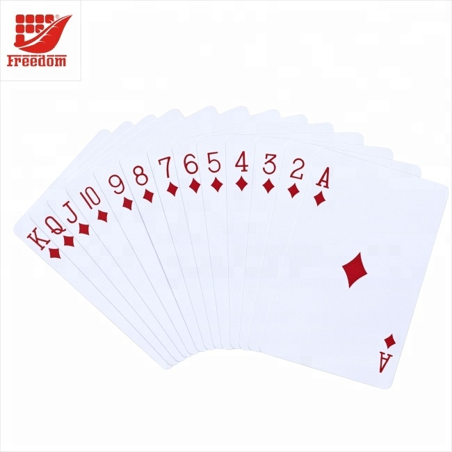 Customized Printed Poker Cards Sets Multiple Size Playing Cards