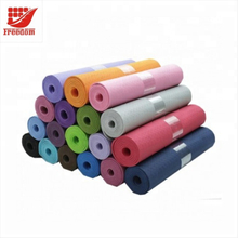 Non-slip LOGO Printed 8MM EVA Yoga Mat for Fitness