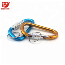 Spring Loaded Gate Small Aluminum Carabiner Clip