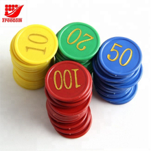 Free Poker Chips with Printed Logo for Promotion