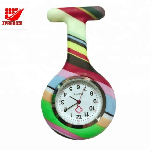 Promotional High Quality Silicone Nurse Watch