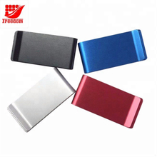 Promotional Logo Printed Leather Money Clip