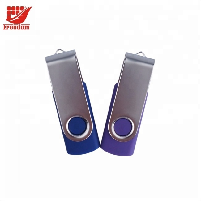 High Speed Rotating 8GB Metal USB Flash Memory Drives