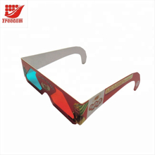 Top Quality Logo Printed Cheap Paper 3D Glasses