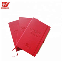 High Quality Business Gift Logo Customized A5 Notebook