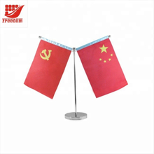 Customized Hot Selling Promotional Stand Table Flag