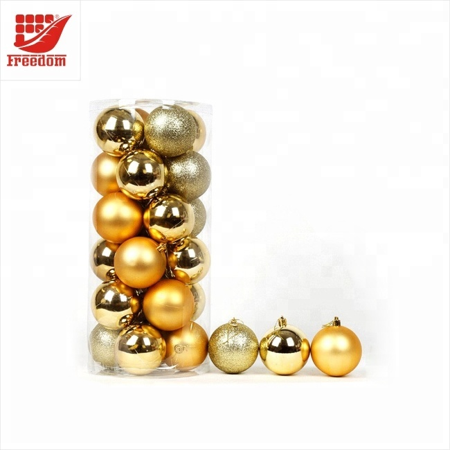 24PCS/Pack Colorful Christmas Balls