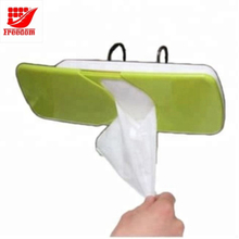Logo Printed Freshing Looking Plastic Car Tissue Box Holders