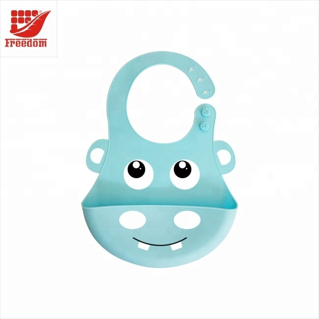 Waterproof Kids Animal Shape Cute Silicone Baby Bibs
